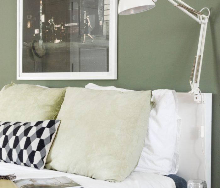 Binnenkijken | Onze nieuwe, 'groene' slaapkamer |